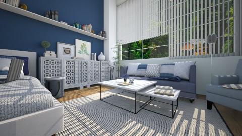 bedroom 4 - Modern - Bedroom - by yasamanmahmoodi