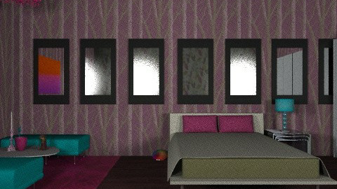 some wood - Bedroom - by dimitrafounda