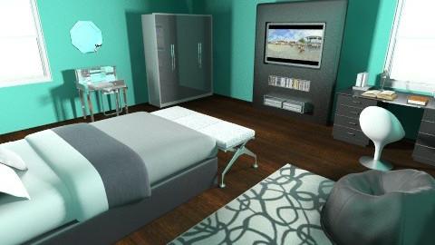 Modern Bedroom - Modern - Bedroom - by jojo123