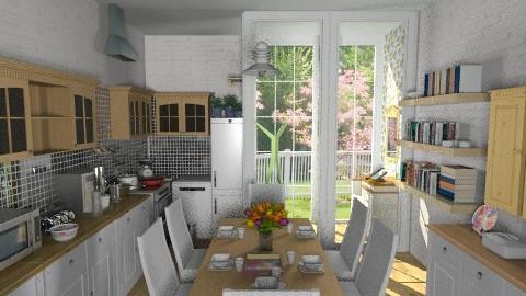 Otto - Classic - Kitchen - by milyca8