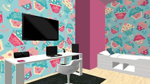 Muffin kids room - Kids room - by vydrovamisulka1
