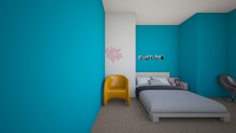 My Bedroom - by Valery Coakley
