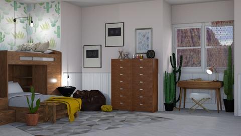 Desert Bunk - Bedroom - by RaeCam