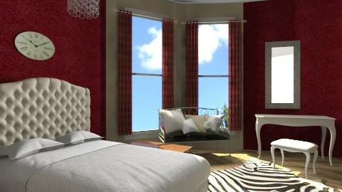 Paris Room - Rustic - Bedroom - by Rachel Elizabeth