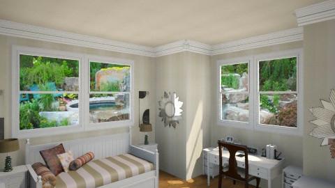 Guest Room 2 - Minimal - Bedroom - by DiamondJ569