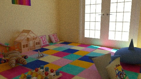 play area - Modern - Kids room - by feastudpreschool