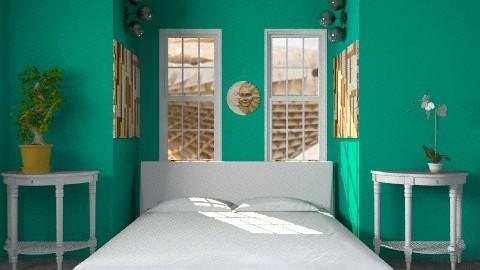 water green - Modern - Bedroom - by lavilavinia
