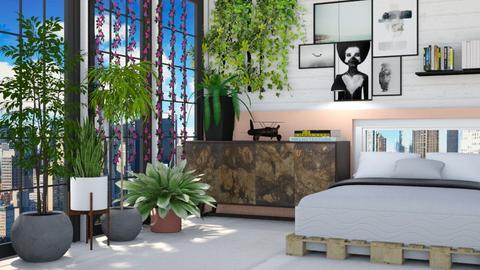 Urban bed - by Aymee Estrella