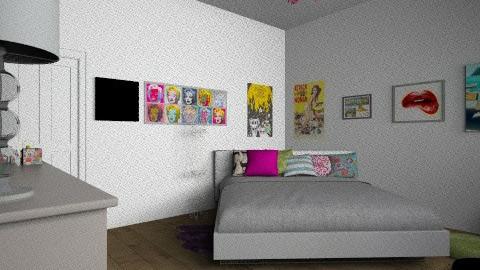 Teen room - Bedroom - by TheDesignQueen