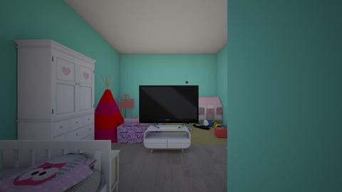 free rain - Kids room - by jasmine schaper