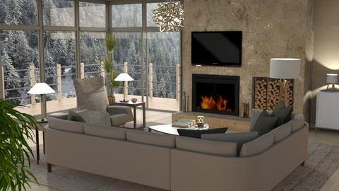 Mountain Canyon Home Living - Living room - by GraceKathryn