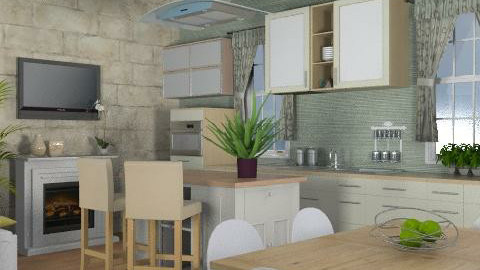 Cotswolds Kitchen One - Country - Kitchen - by channing4