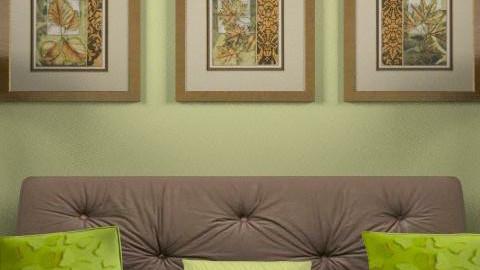 ART - Minimal - Living room - by milyca8