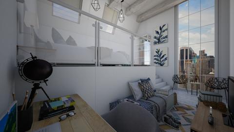 Loft Bedroom - Modern - Bedroom - by christoforos