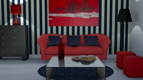 Yellow Detail x - Living room - by kelseyleigh3