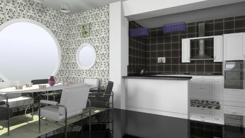 Kit 1 - Modern - Kitchen - by violeta1987
