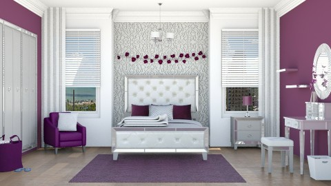 Daughter's Room - Feminine - Bedroom - by Fairlight