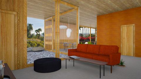 Edris - Living room - by ewoehlke