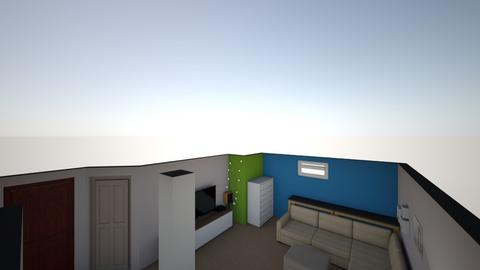 Movie Room - Modern - Kids room - by Peter Gartner
