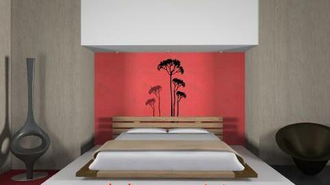 zen - Minimal - Bedroom - by whateffer