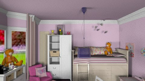Girls are messy - Classic - Kids room - by ebonee