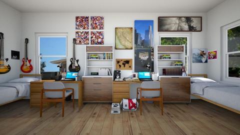 Room 206 - Bedroom - by SammyJPili