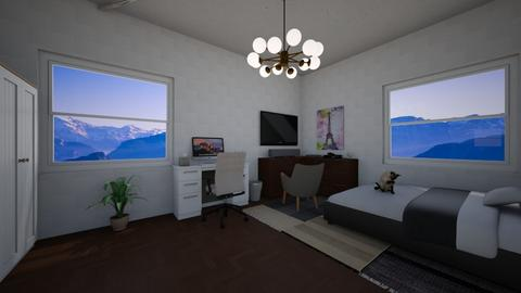 bedroom - Modern - Bedroom - by Herbstl20