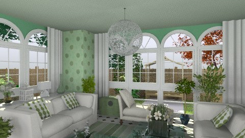 peaceful garden room - Classic - by brianclough