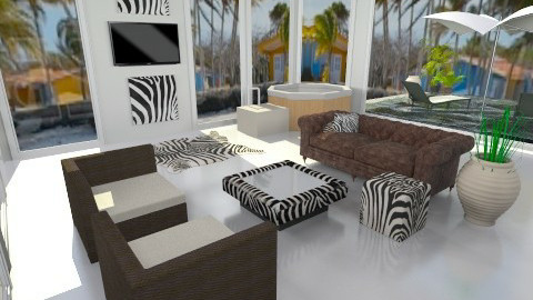 Peace Caribe - Glamour - Living room - by aguss