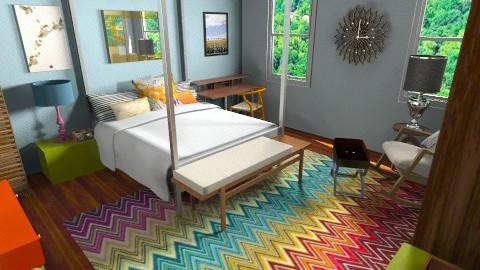 Central Park Sunshine - Eclectic - Bedroom - by lauren_murphy