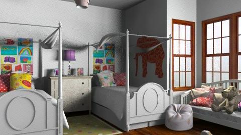 broadw 12 - Eclectic - Kids room - by jen86