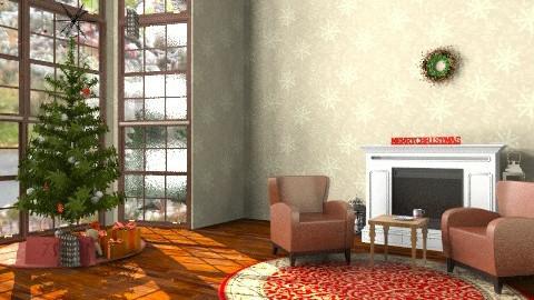 Christmas Room - Classic - Living room - by emilypinnock