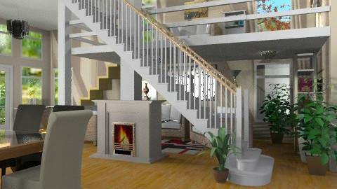 Multi Levels - Modern - Living room - by Bibiche