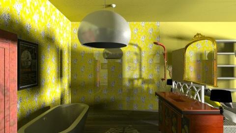 Indie Retro Bathroom 2 - Retro - Bathroom - by tillsa98