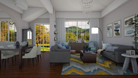 Beach Modern - Living room - by Raquel Collison