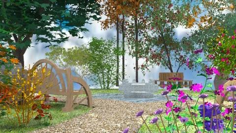 In the Park - Classic - Garden - by Bibiche