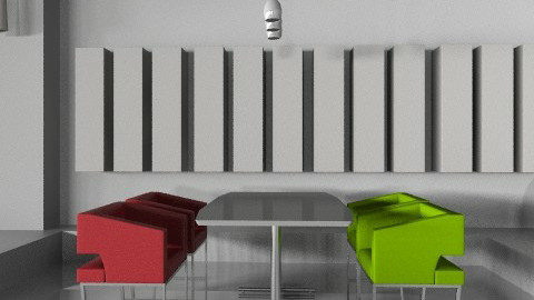 Project1- showroom lobby  - Modern - Office - by monicasabile