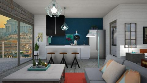 Studio apartment - Modern - by augustmoon