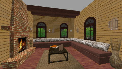 wooden house 1 - Country - by Ori Ortensa