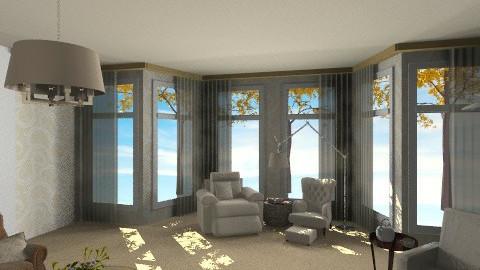 House - Living room - by nurumm