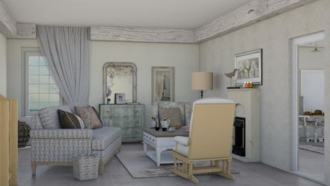Shabby_Chique_2 - Living room - by RaeCam