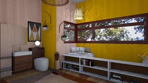 Boho_Bath - Bathroom - by RaeCam