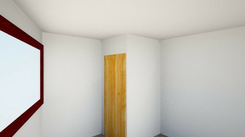 Cuarto sencillo - Bedroom - by MartinCruxM