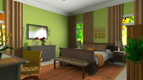 Ali Kingdom - Country - Bedroom - by natural11
