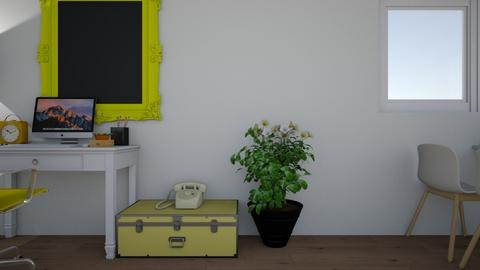 Yellow House - Retro - by keiram16