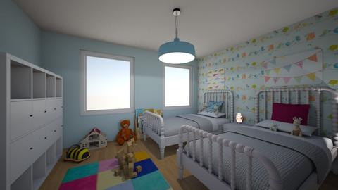 Kinderkamer 1 - Kids room - by tinegregoor
