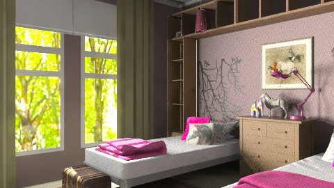 Rustic Princess - Country - Kids room - by MaryFerrisFDC