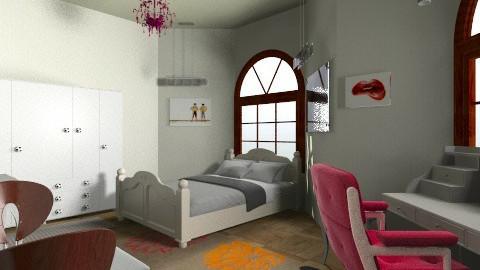 nn - Bedroom - by Moe HOSHINO