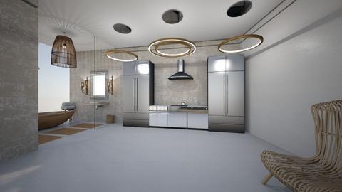 parter2 - Kitchen - by biancateodorescu