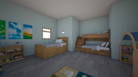 boys room - Kids room - by rousseysmith